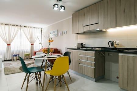 Apartamento novo no centro de Santiago - Santiago - Apartmen