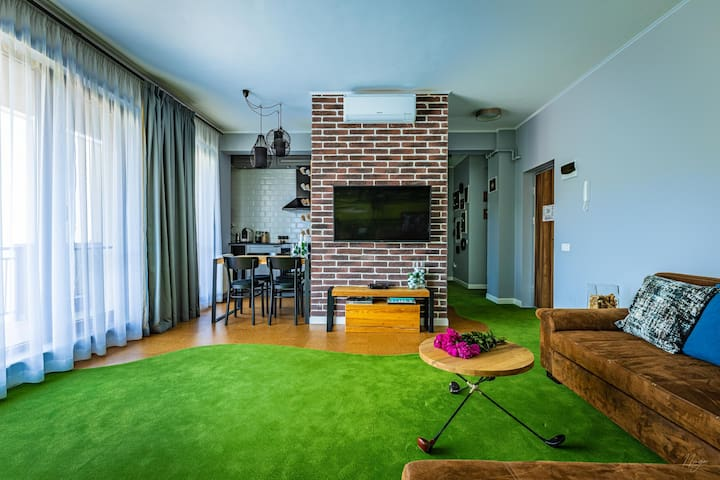 The Golfer Apartment - Jacuzzi & Panoramic View