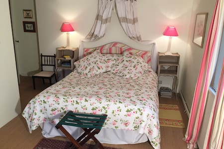 Pretty double room in village house - Saint-Vivien