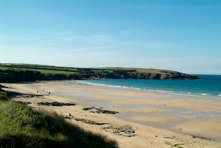 Surfers' Paradise in Harlyn Bay - Cornwall - Hus
