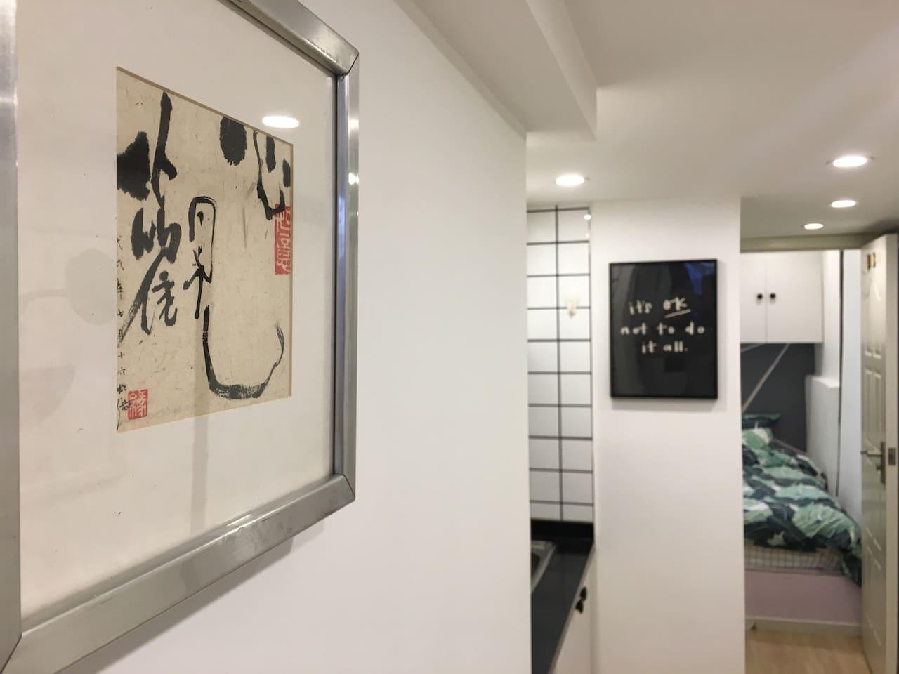【觀心】#1上海市中心独立厨卫特色艺术民居进贤路网红街近淮海中路陕西南路南京西路地铁站