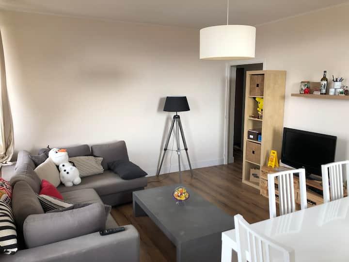 Appartement lumineux au centre de Beaumont
