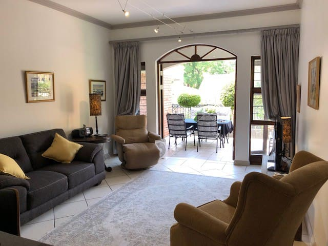 Craighall, ground floor garden apartment