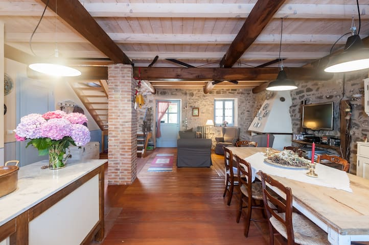 Typical Tuscan Country House - Regnano - Villa
