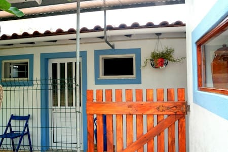 Country Side Blue House / 10m from Beaches by Car