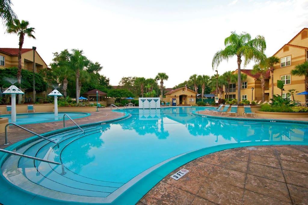 Blue Tree Resort 1 Bedroom Suite 2 Apartments For Rent In Lake Buena Vista Orlando Florida