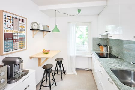 Stylish garden flat in quiet, central location