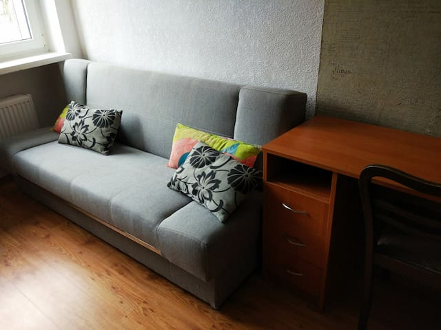 Light and comfortable room near city centre