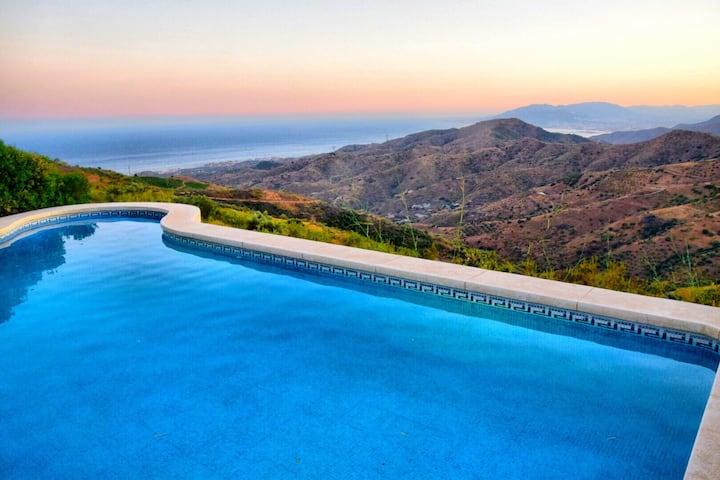 """Stunning Panoramic luxury """"Villa Axarquia"""""""