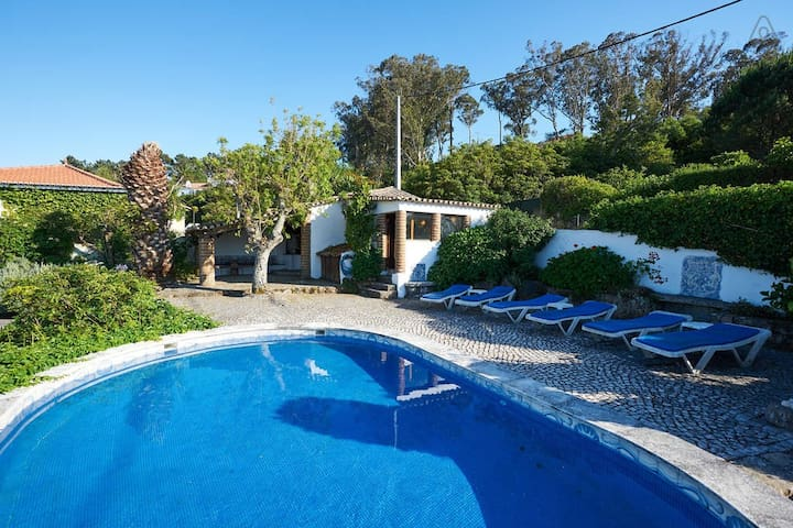 CASA NO AR-POOL HOUSE, PENEDO, SINTRA beach/pool