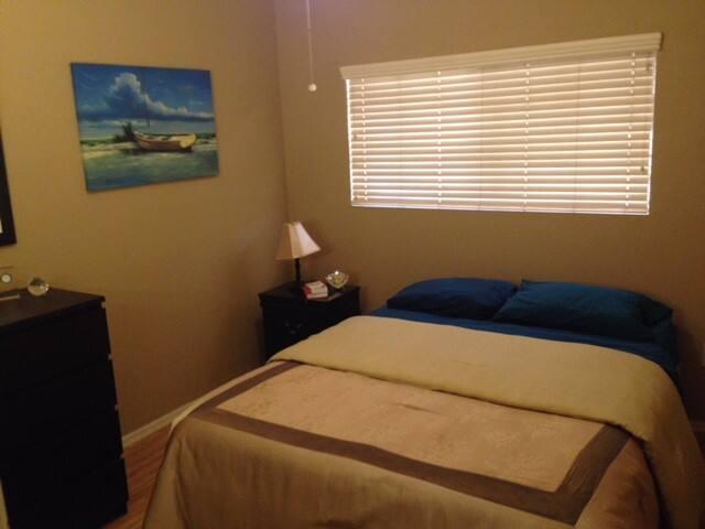 Bedroom. Plenty of closet space. Quiet.