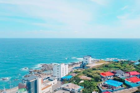 강릉주문진 풀옵션 ocean view Pension Apt