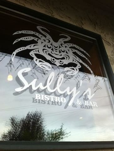 Walk to Sully's sports bar