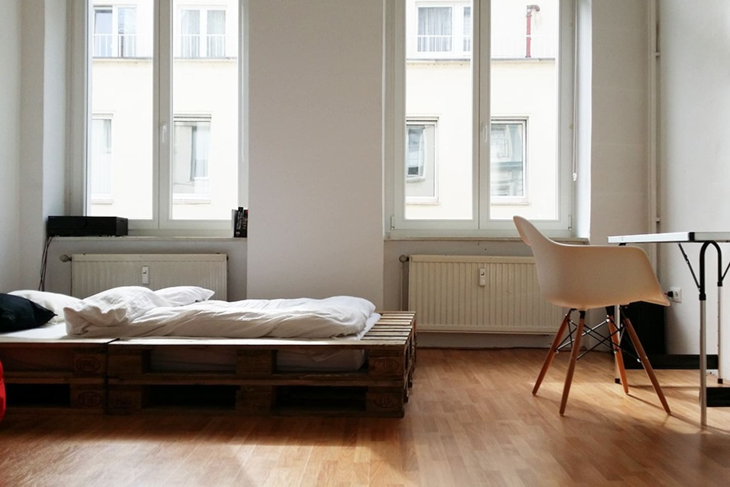 Your big and bright  bedroom