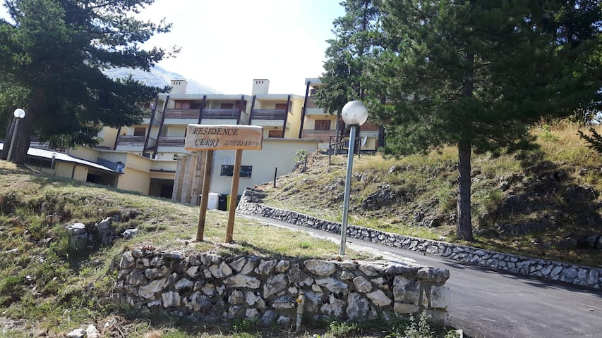 Appartamento 60 mq in Residence a Rocca di Cambio - Cerri - Appartamento
