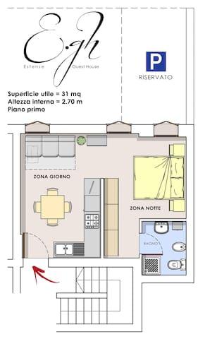 ESTENSE GUEST HOUSE - Ferrara - Apartment