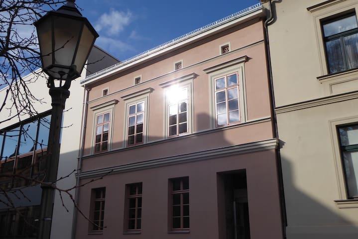 Straßenansicht Einzeldenkmal Stadthaus 1848