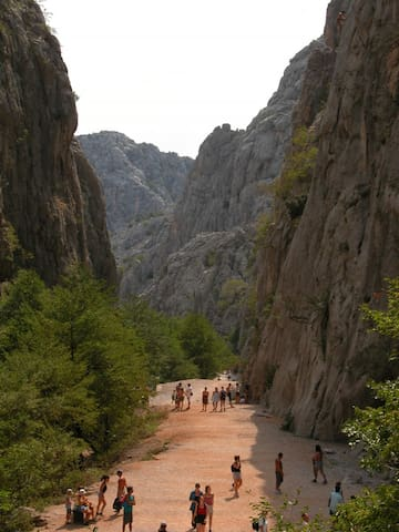 """National Park """"Paklenica"""" by car 1  hour (Climbing)"""