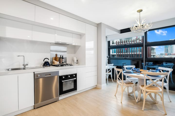 The Hamptons Port Melbourne - Deluxe 1 Bedroom