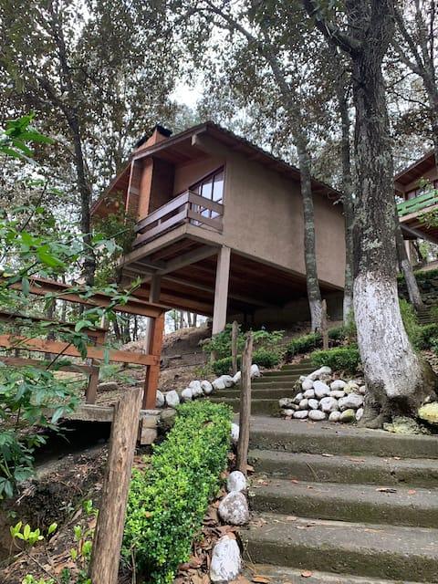 Cabaña-habitación 2 personas Los Bosques del Zembo