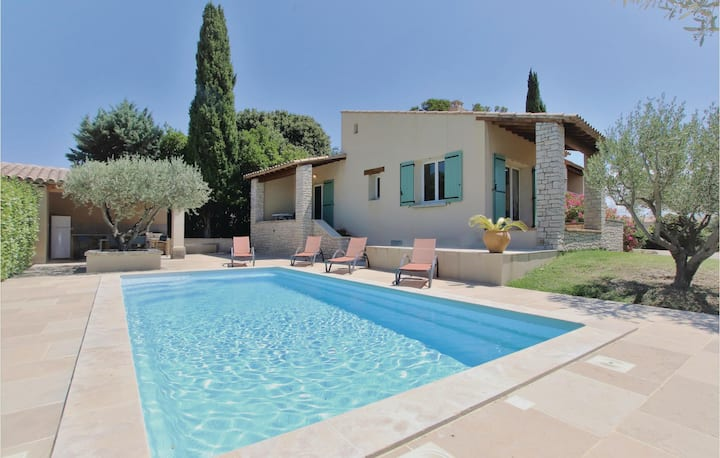 Amazing home in Tulette with WiFi and 3 Bedrooms