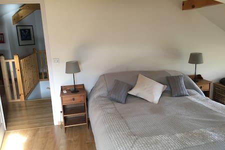Room in family home, near lake Annecy - Saint-Jorioz - Bed & Breakfast