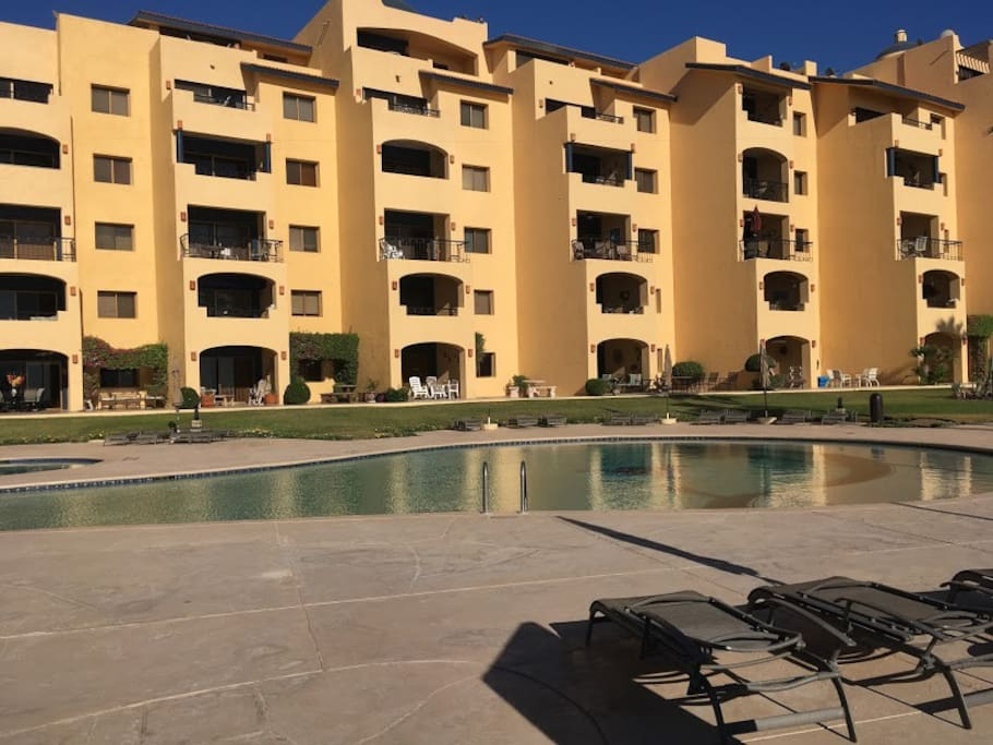 Resort includes 3 pools and jaquzzi