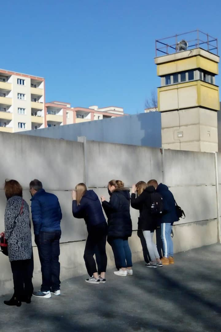 See the remains of the Berlin Wall