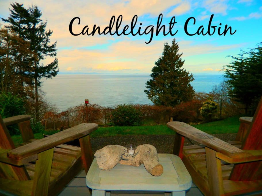 Candlelight Cabin with stunning water views