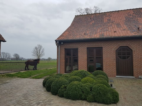 Quiet holiday home on a beautiful farm!