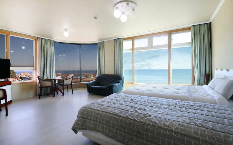 낙산해수욕장 아름다운 바다조망 5청실특실