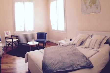Maison: chambre cosy & grand jardin - House