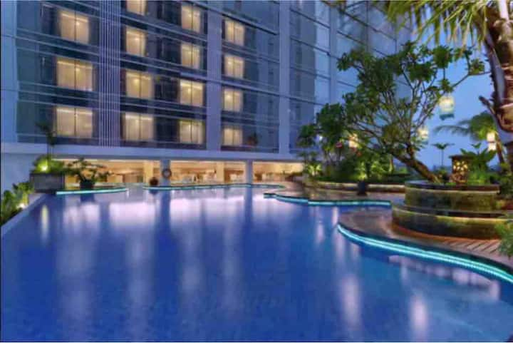 Apartment Yogyakarta with pool and more facilities