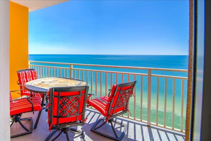 Gulf Front for 6! *OPEN (PHONE NUMBER HIDDEN)th Floor Balcony- Splash 1103E - Panama City Beach - Pis