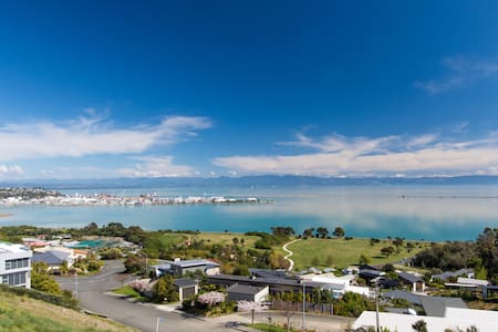 Aqua Heights - Nelson Apartment with Sea Views - Apartamento