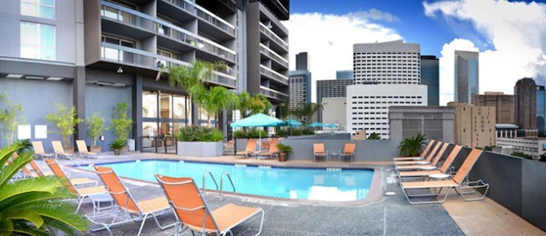 Nice Downtown Apartment - High-rise! w/parking! - Houston - Lägenhet