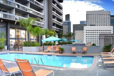 Nice Downtown Apartment - High-rise! w/parking! - Houston
