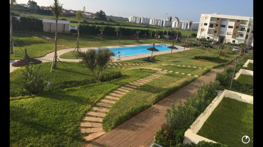Apartement balnaire non loin de Casa,10 min plage