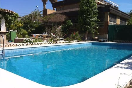 6 bed detached villa with pool min 6 person - ベニドーム