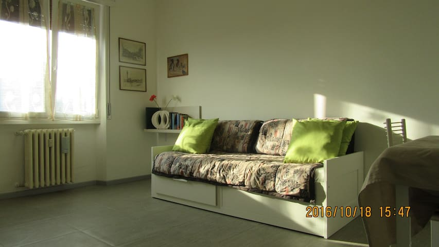 Comfortable apartment close to Milan.