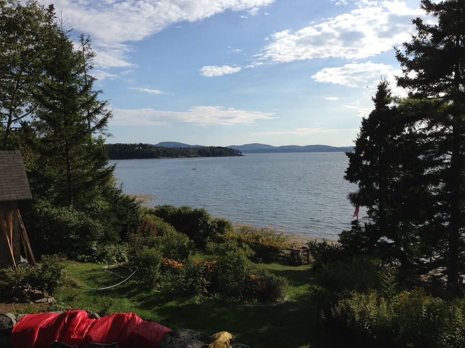 View towards Acadia