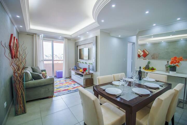Santo André, 3 bedrooms, comfy, cozy, UNIABC