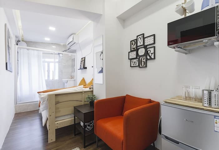Summer deal Cute & cosy studio 1min MTR TST/Jordan