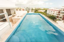 Our Rooftop Pool with great views!