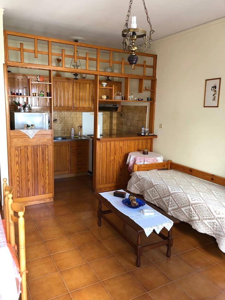 Petras apartment with veranda