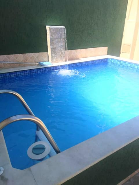 House in Itanhaém with Pool and Barbecue