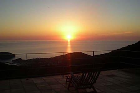 Chalet con vista al mar - フォナルトス (Fornalutx) - 別荘