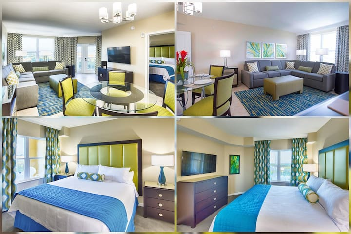 Comfy Stay! Resort Amenities! Free Park Shuttles!