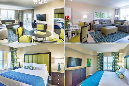 Comfy Stay! Resort Amenities! Convenient Shuttles!