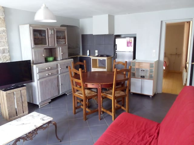 charming village flat - Saint-Lothain - Apartment